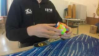 Rubik S Cube Official Solve 5 81 Seconds Henri Gerber ABC 2018