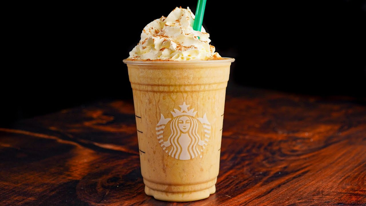 100 Calorie Pumpkin Spice Protein Frappuccino   Putting the 550 Calorie Starbucks Version to Shame