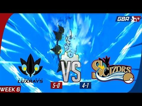 GBA S7W6 - Tampa Bay Luxrays (5-0) vs Philadelphia Scizors (4-1)