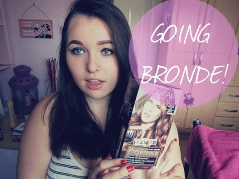 Going Bronde Loreal Glam Bronde Tutorial And Review Jessie