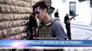 Repeat youtube video Inregistrarea in care extremistii se pregatesc sa DECAPITEZE un JURNALIST american