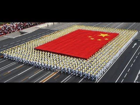 Парад в Китае под песню Катюша