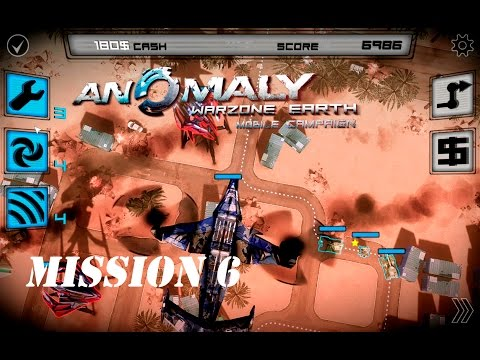 MISSION 6 - THE TRANSPORT - Anomaly Warzone Earth Mobile Campaign - Gameplay #6 |