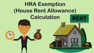HRA Tax Exemption Calculation Explained In Hindi || ITR Filing