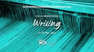 WCD2020 Sessions - Words of Truth and Beauty (how to write stories)
