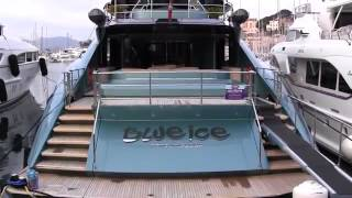Super Yacht BLUE ICE   Palmer Johnson 150   Port of Cannes