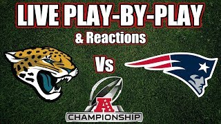 Jaguars vs Patriots | Live Play-By-Play & Reactions
