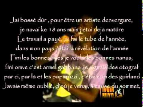 Armel Gabbana _ Sommet ( version karaoke+lyrics)
