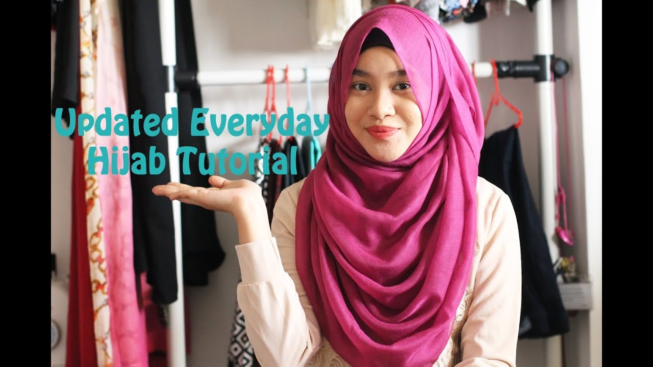 Updated Everyday Hijab Tutorial YouTube