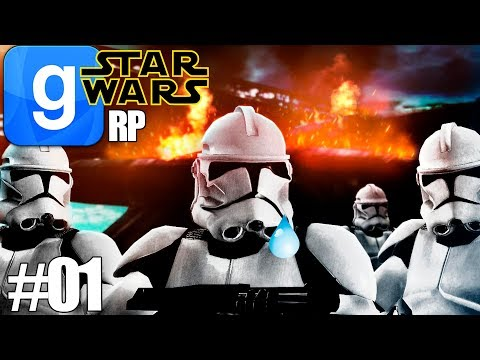 ROLEPLAY EN STAR WARS? | GMOD STARWARS RP POP