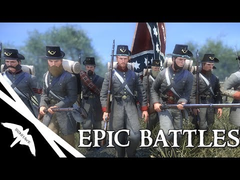Most Realistic American Civil War Game Ever? EPIC battles - War of Rights