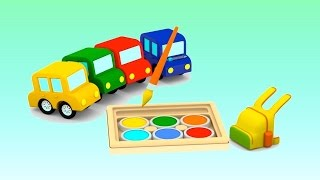 CAR SCHOOL -  Cartoon Cars Videos for Kids - Cartoons for Children - Kids Cars Cartoons