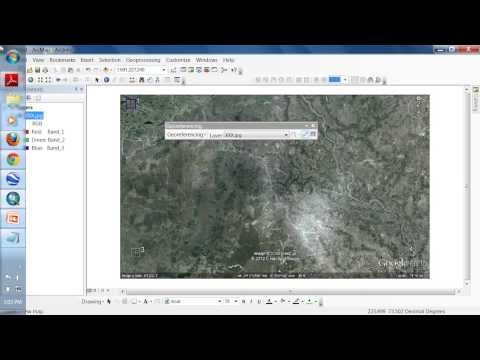 Lecture : 7 | ArcGIS 10 : Extracting Information from Google earth