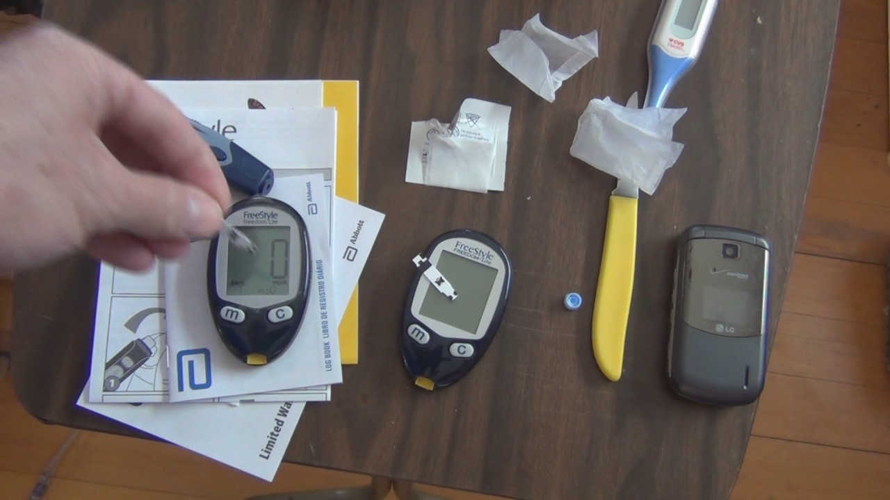 freestyle freedom lite glucose meter unboxing youtube