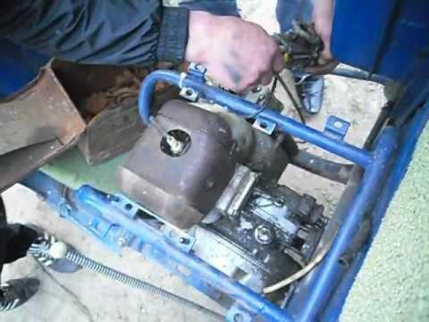 ремонт мотороллера муравей