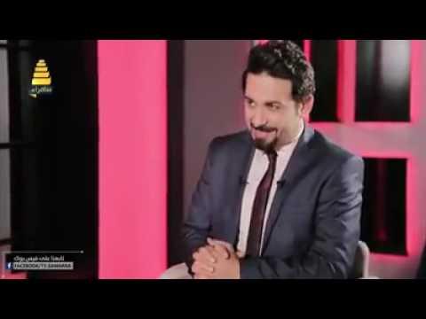 انهيار الشاعر عباس عبد الحسن في برنانج توارد حلقه ناريه