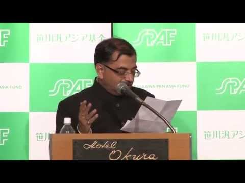 "A Seminar on""A New Possibility for India-Japan Relations""(October 16, 2014)"
