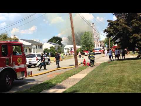 Fire at 176 Mountainview Drive, Clifton, NJ  07013