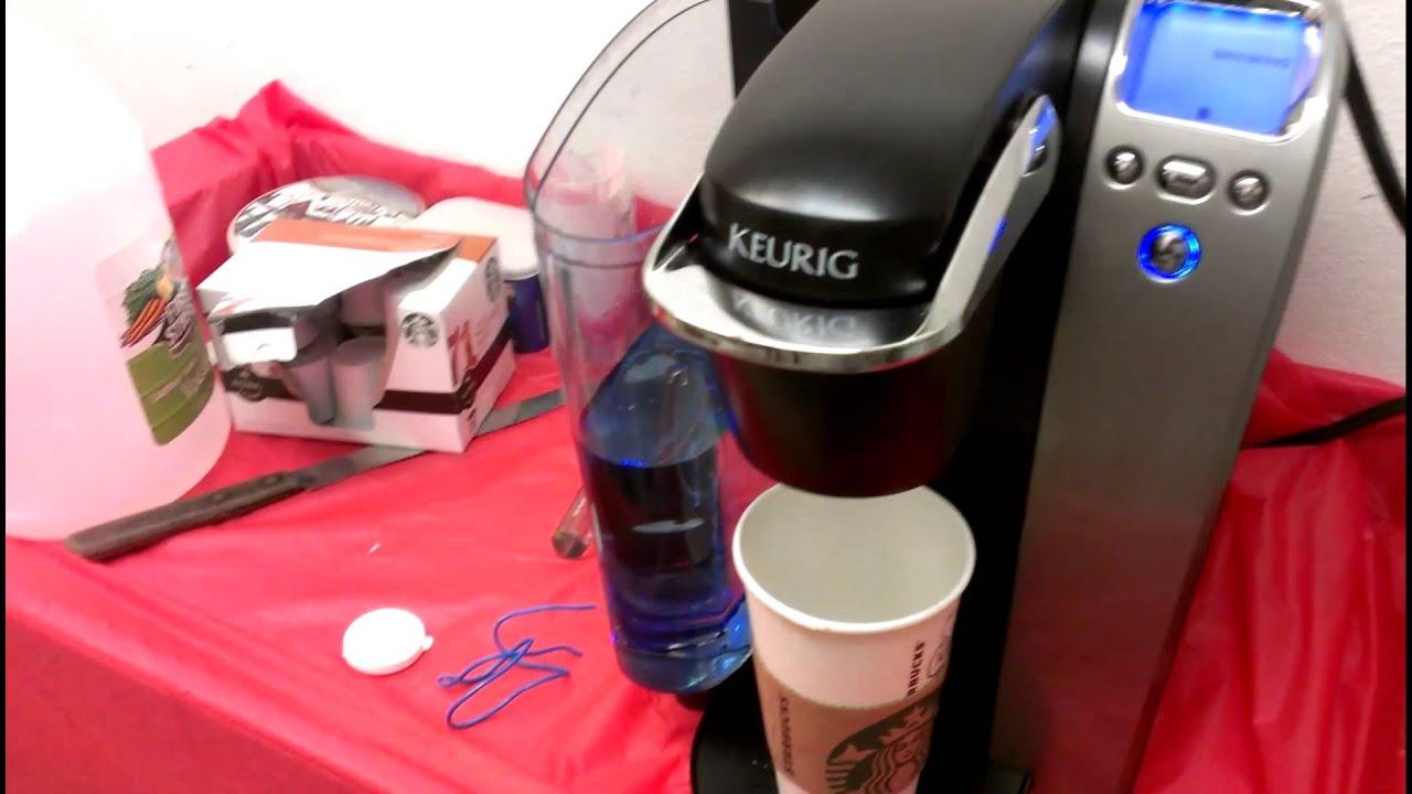 Keurig troubleshoot coffee maker - YouTube