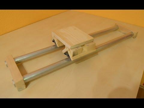 kamera dolly slider selber bauen bauanleitung dh he doovi. Black Bedroom Furniture Sets. Home Design Ideas
