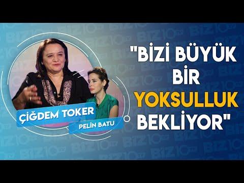 """Pelin Batu'nun Konuğu Gazeteci Çiğdem Toker   """"Bizi Büyük Bir Yoksulluk Bekliyor"""""""