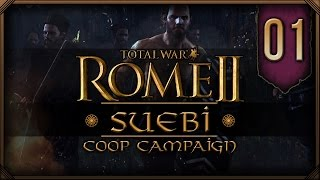 Rome 2: Total War (Suebi/Syracuse) - Surreal and Lionheart Co-op #1