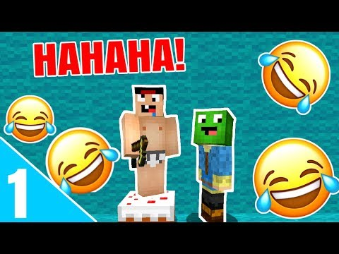 TRY NOT TO LAUGH CHALLENGE #1 - Dansk Minecraft