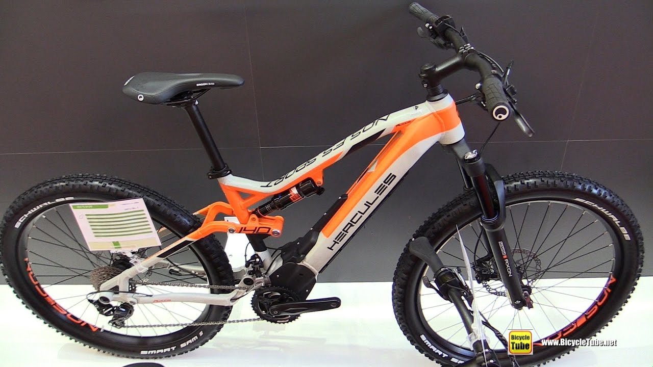 2017 hercules nos pro electric mountain bike walkaround 2016 eurobike youtube. Black Bedroom Furniture Sets. Home Design Ideas