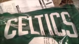 Boston Celtics NBA Jersey Unboxing