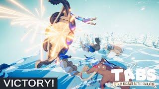 TABS // Vikingerne får tæv af raketter! // Totally Accurate Battle Simulator