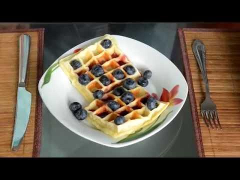 Венские вафли: рецепт удовольствия