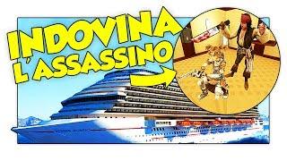 Gmod ITA - INDOVINA L'ASSASSINO NELLA NAVE DA CROCIERA! Murder w/ Two Players One Console