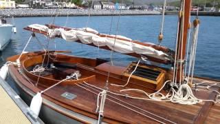 Ivan Godley sailing.