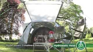 Coleman® Coastline 4 Deluxe - Tunnel Tent for Family Camping
