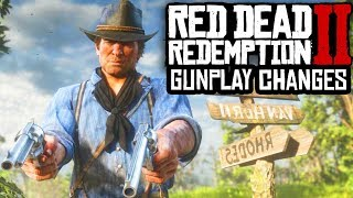 Red Dead Redemption 2 - MAJOR GUN CHANGES & SHOOTING GAMEPLAY DETAILS