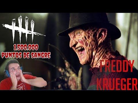 Dead By Daylight - MILLÓN y medio de puntos para Freddy!