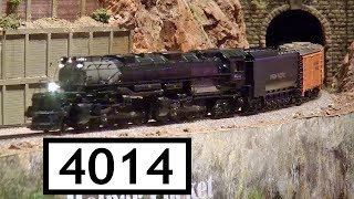 Big Boy 4014 at Colorado Model Railroad Museum