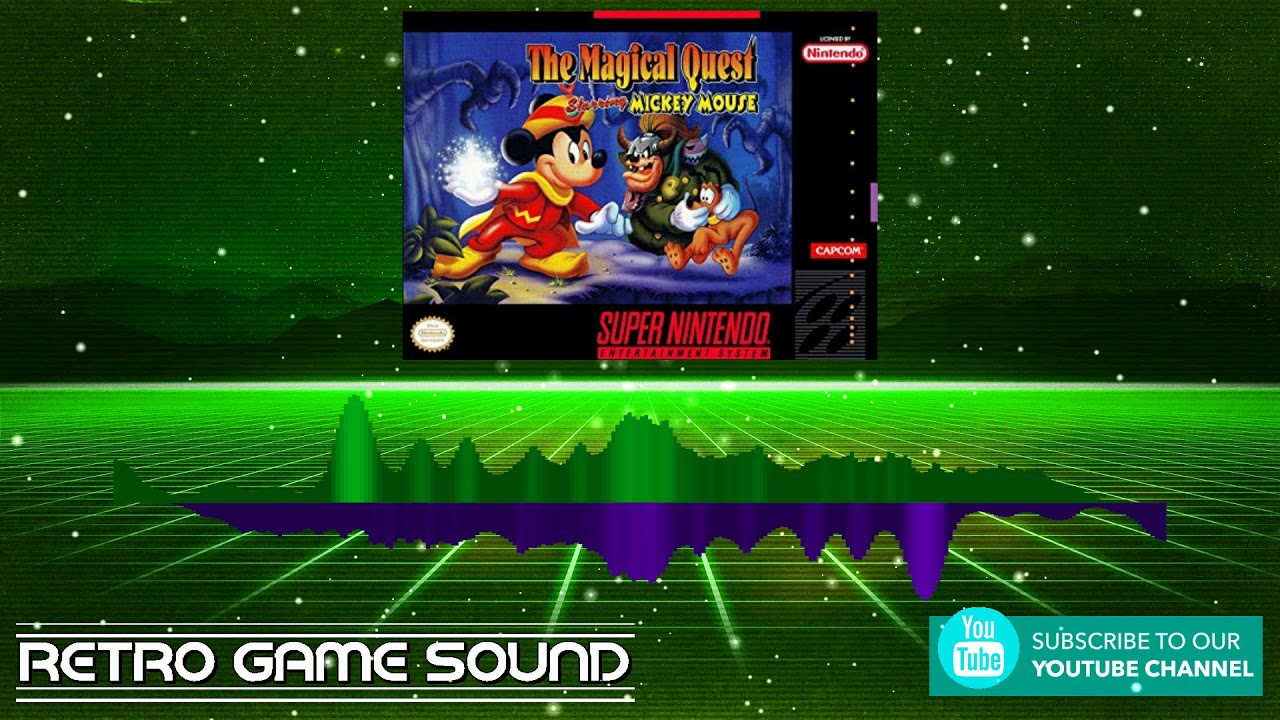 the magical quest ft mickey mouse snes  1992