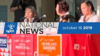 APTN National News October 18, 2019 – Edmonton climate change rally, A look at ridings
