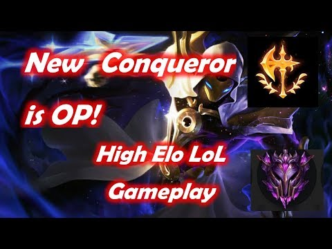 New Conqueror on Kassadin is OP! Wrecking the noobs - EUW Master tier Highlights