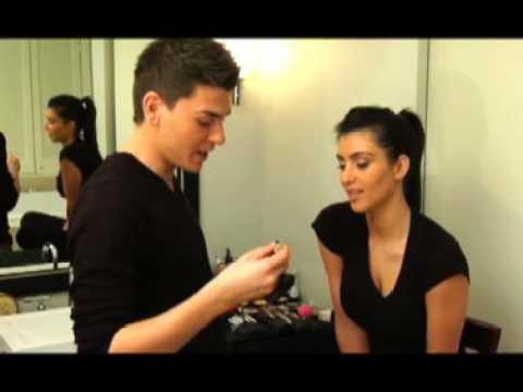 Mario Dedivanovic and Kim Kardashian Makeup Video part 2