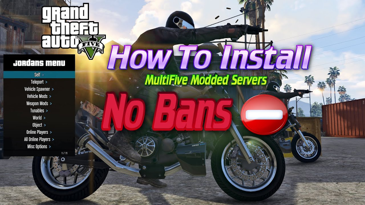How To Install Multifive Modded Servers For Gtav Pc Download No