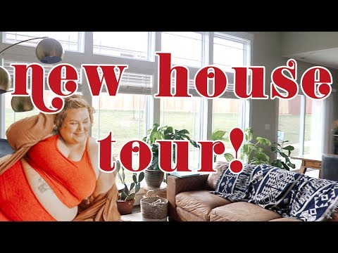 We Moved! New (and old) house tour!!!