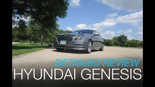 Hyundai Genesis - An affordable 5 series? Detailed Video Review and Test Drive