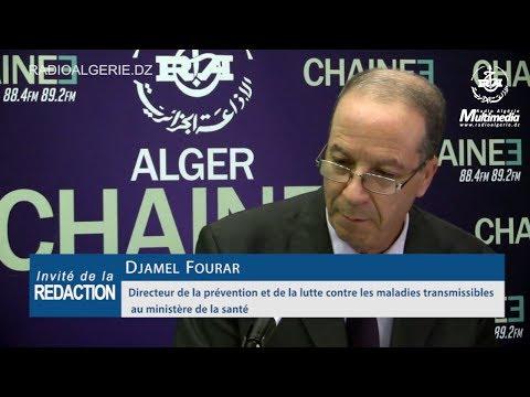 Djamel Fourar Directeur de la prévention et de la lutte contre les maladies transmissibles au minist