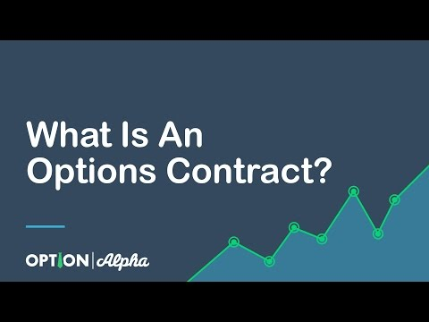 What Is An Options Contract?