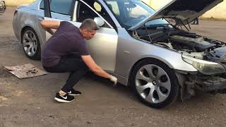 BMW E60 Разобрал под покраску