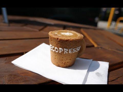 Edible Espresso Cup in Tokyo