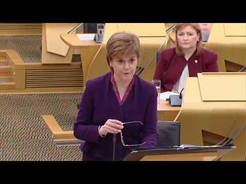 First Minister's Questions - 23 November 2017