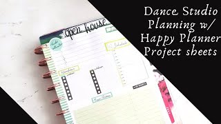 Event Planning|Happy Planner Project Sheets|Marquita Bianca
